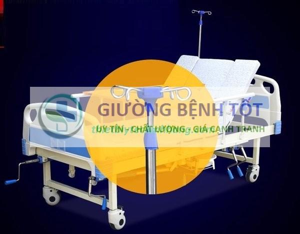 giường bệnh 5 tay quay Nakito NKT-05