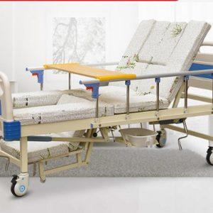 Giường Bệnh Nhân 3 Tay Quay 10 Chức Năng NKT-03